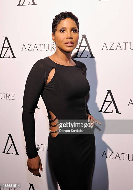 Recording artist Toni Braxton attends The Black Diamond Affair with A Z A T U R E at Sunset Tower on October 8 2013 in West Hollywood California