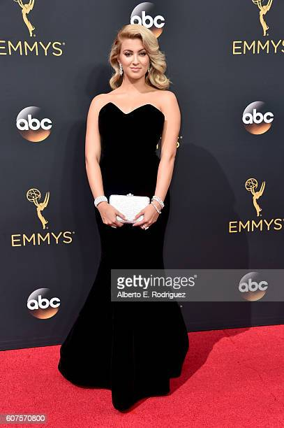 Recording artist Tori Kelly attends the 68th Annual Primetime Emmy Awards at Microsoft Theater on September 18 2016 in Los Angeles California