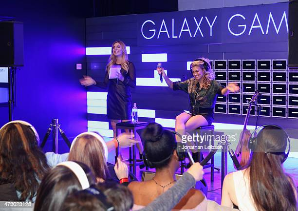 Recording artist Tori Kelly performs during the Tori Kelly album listening party hosted by Samsung at the Samsung Studio LA across from The Grove on...