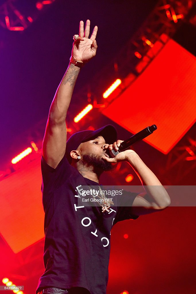 Recording artist Tory Lanez performs onstage during the 2016 BET Experience at Staples Center on June 25, 2016 in Los Angeles, California.