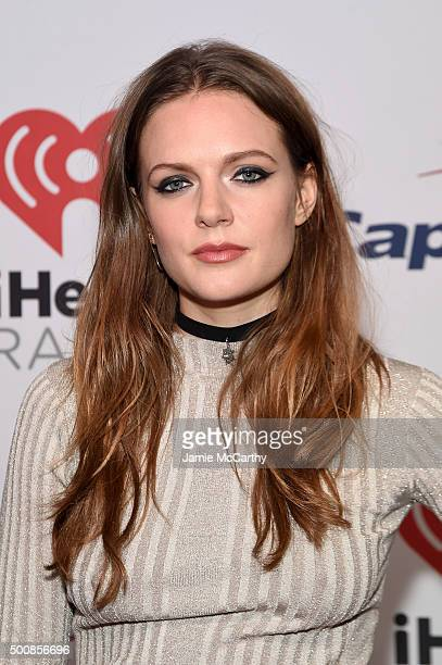 Recording artist Tove Lo attends KISS 108's Jingle Ball 2015 Presented by Capital One at TD Garden on December 10 2015 in Boston Mass