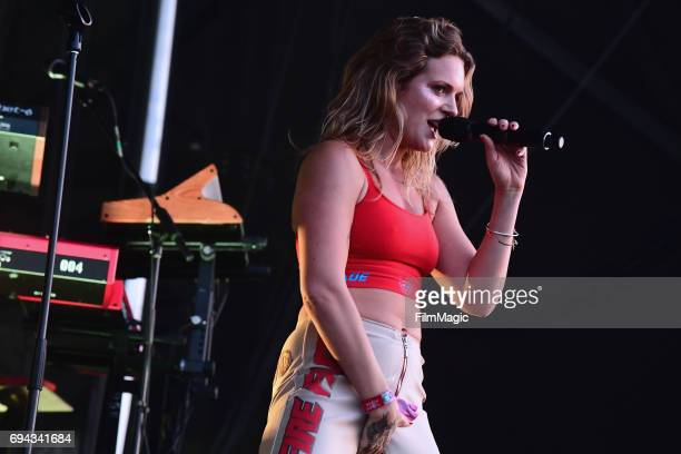 Recording artist Tove Lo performs onstage at Which Stage during Day 2 of the 2017 Bonnaroo Arts And Music Festival on June 9 2017 in Manchester...