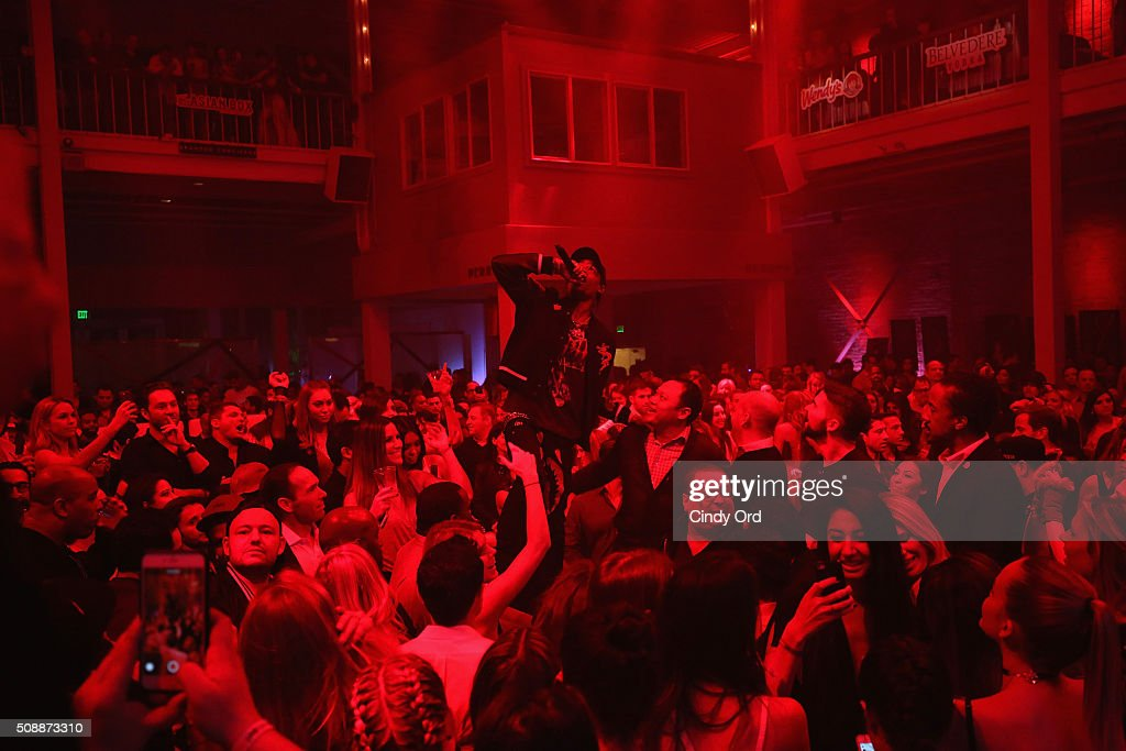 Recording artist Travis Scott performs onstage during Rolling Stone Live SF with Talent Resources on February 7, 2016 in San Francisco, California.