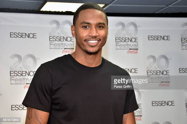 Recording artist Trey Songz attends the 2014 Essence Music Festival on July 3 2014 in New Orleans Louisiana