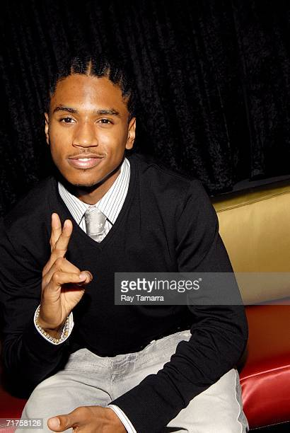 Recording artist Trey Songz attends the 6th Annual BMI Urban Awards at the Roseland Ballroom August 30 2006 in New York City