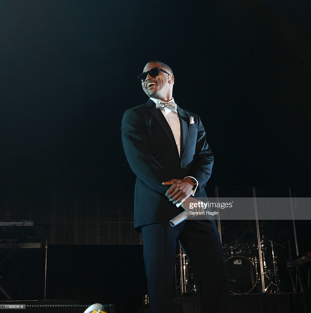 Recording artist <a gi-track='captionPersonalityLinkClicked' href=/galleries/search?phrase=Trey+Songz&family=editorial&specificpeople=674835 ng-click='$event.stopPropagation()'>Trey Songz</a> performs during the 2013 Essence Festival at the Mercedes-Benz Superdome on July 6, 2013 in New Orleans, Louisiana.