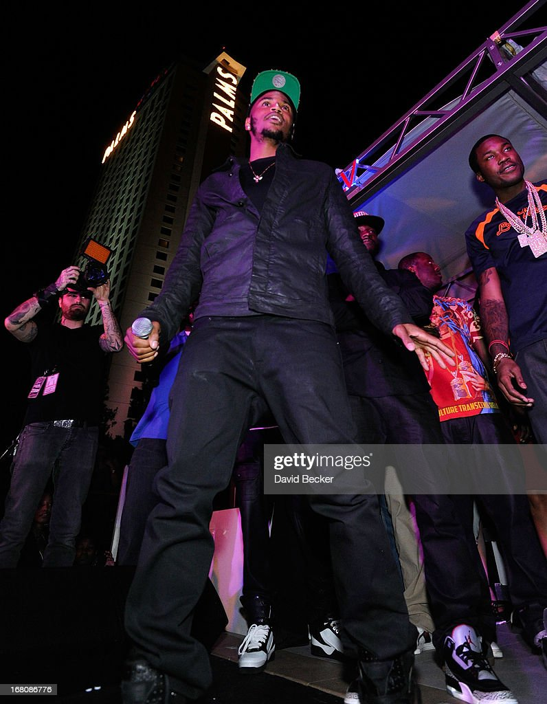 Recording artist Trey Songz performs during the Fight Night after party at the Palms Casino Resort on May 4, 2013 in Las Vegas, Nevada.