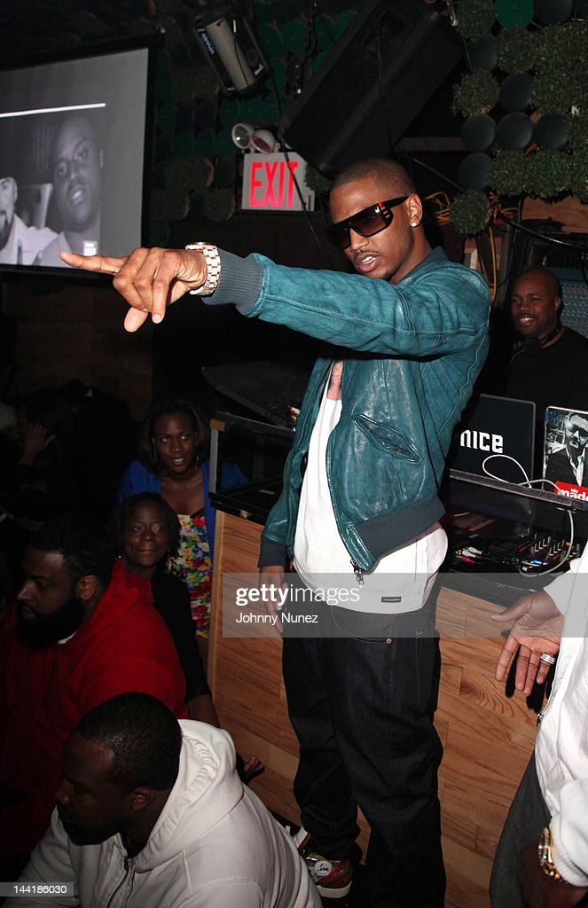 Recording artist Trey Songz visits Greenhouse on May 10 2012 in New York City