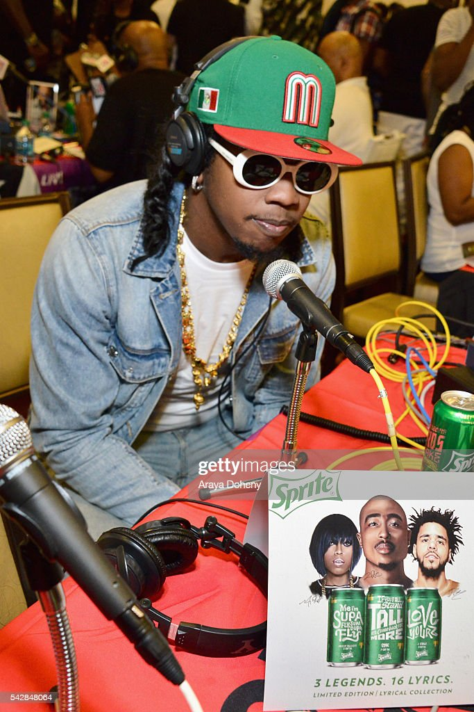 Recording artist Trinidad James attends the radio broadcast center during the 2016 BET Experience at the JW Marriott Los Angeles L.A. Live on June 24, 2016 in Los Angeles, California.