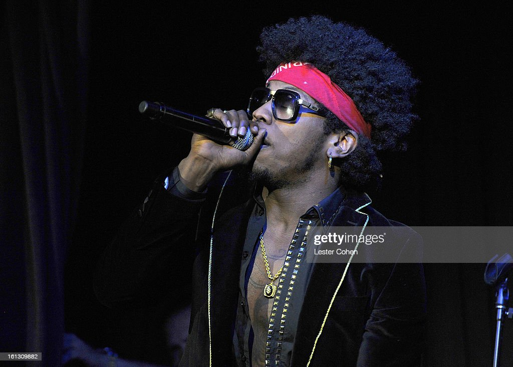 Recording artist Trinidad James performs onstage during Universal Music Group Showcase '13 at Lure on February 9, 2013 in Hollywood, California.