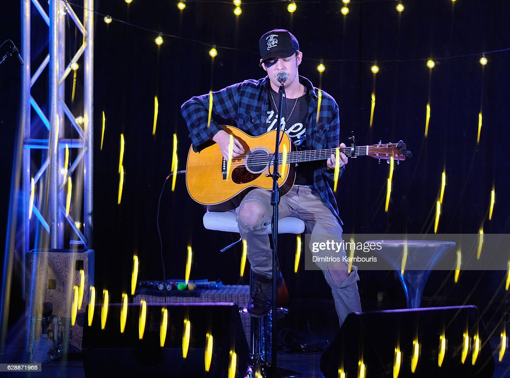 Recording artist Tucker Beathard performs onstage during CMT Story Behind The Songs LIV + Weekend at Sandals Royal Bahamian Spa Resort & Offshore Island - Day 2 at Sandals Royal Bahamian on December 9, 2016 in Nassau, Bahamas.