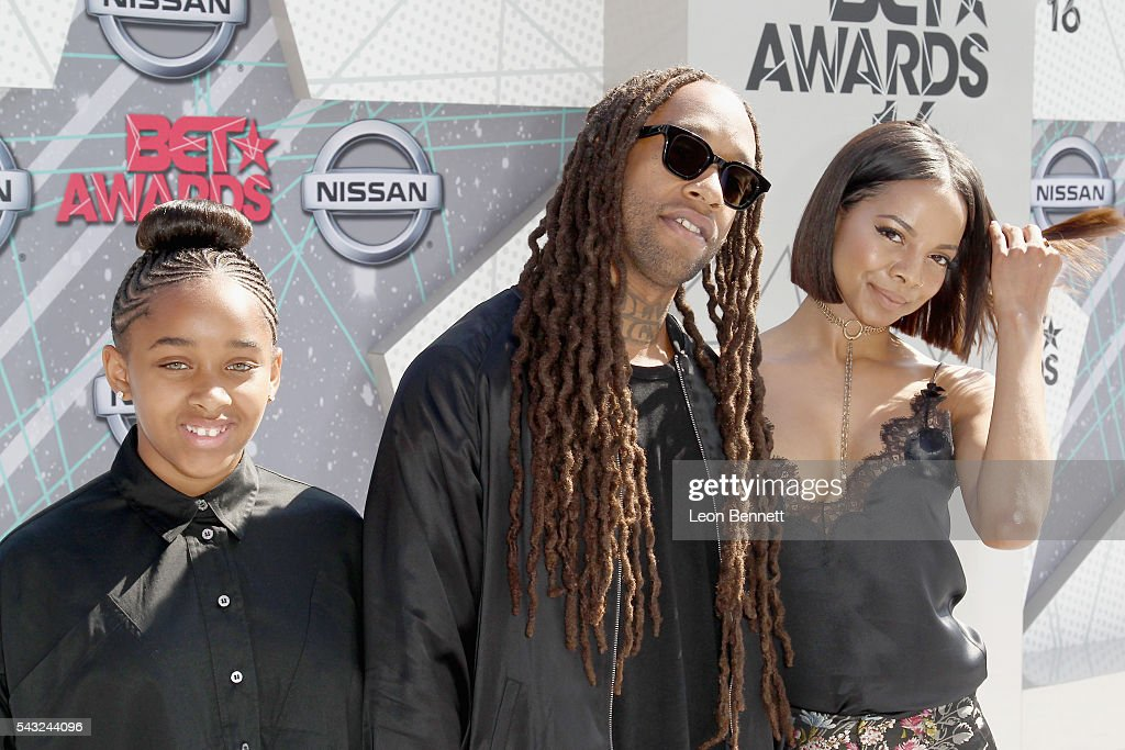 Recording artist Ty Dolla $ign (C) and guests attend the Make A Wish VIP Experience at the 2016 BET Awards on June 26, 2016 in Los Angeles, California.