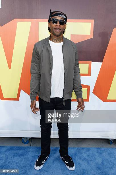 Recording artist Ty Dolla Sign attends The 2015 MTV Movie Awards at Nokia Theatre LA Live on April 12 2015 in Los Angeles California