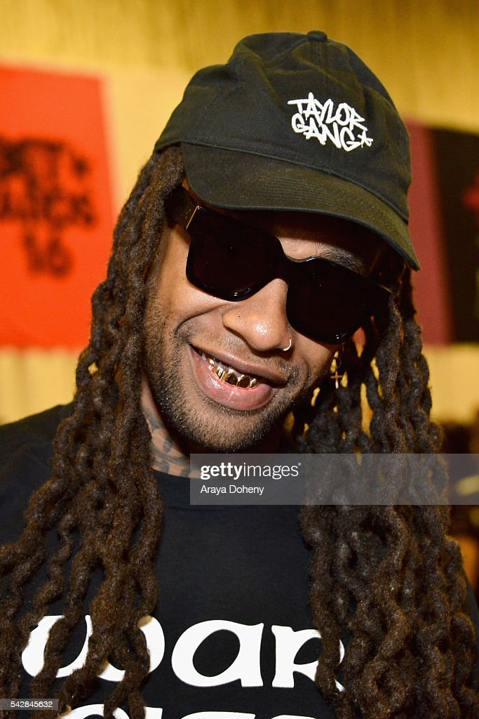 Recording artist <a gi-track='captionPersonalityLinkClicked' href=/galleries/search?phrase=Ty+Dolla+Sign&family=editorial&specificpeople=8330457 ng-click='$event.stopPropagation()'>Ty Dolla Sign</a> attends the radio broadcast center during the 2016 BET Experience at the JW Marriott Los Angeles L.A. Live on June 24, 2016 in Los Angeles, California.