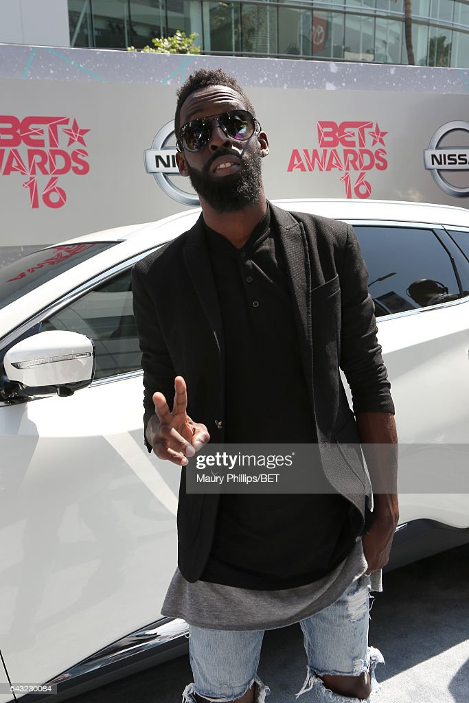 Recording artist <a gi-track='captionPersonalityLinkClicked' href=/galleries/search?phrase=Tye+Tribbett&family=editorial&specificpeople=2330862 ng-click='$event.stopPropagation()'>Tye Tribbett</a> attends the Nissan red carpet during the 2016 BET Awards at the Microsoft Theater on June 26, 2016 in Los Angeles, California.