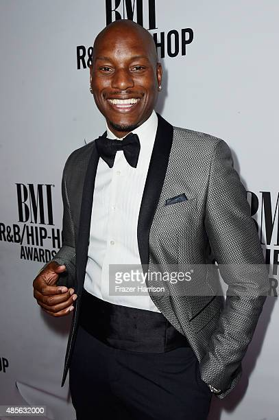 Recording artist Tyrese attends the 2015 BMI RB/HipHop Awards at Saban Theatre on August 28 2015 in Beverly Hills California