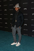 Recording artist Usher attends LACMA 2015 ArtFilm Gala Honoring James Turrell and Alejandro G Iñárritu Presented by Gucci at LACMA on November 7 2015...