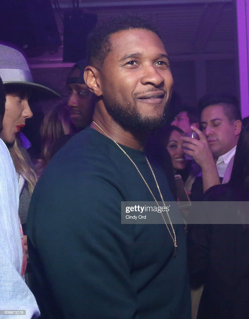 Recording artist Usher attends Rolling Stone Live SF with Talent Resources on February 7, 2016 in San Francisco, California.