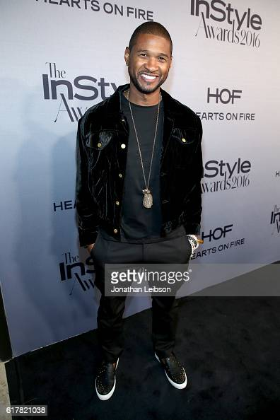 Recording artist Usher attends the Second Annual 'InStyle Awards' presented by InStyle at Getty Center on October 24 2016 in Los Angeles California