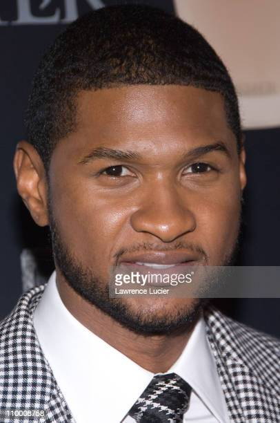 Recording artist Usher Raymond IV arrives at the launch party for his new fragrances for men and women September 25 at Cipiriani's 23rd St in New...