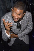 Recording artist Usher Raymond IV launches his new fragrances Usher For Men and Usher For Women September 25 at Cipriani's 23rd Street in New York...