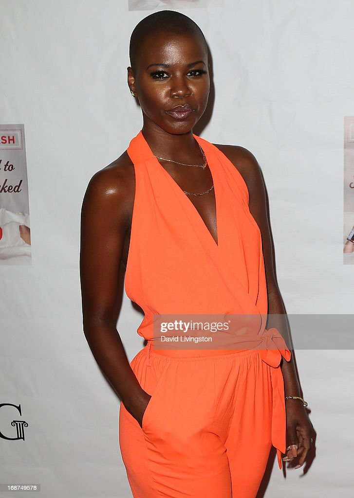 Recording artist V. Bozeman attends a Niecy Nash signing for her book 'It's Hard to Fight Naked' at the Luxe Rodeo Drive Hotel on May 14, 2013 in Beverly Hills, California.