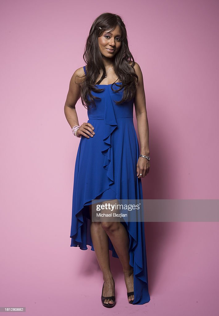 Recording artist Vaja poses for portraits at the Mark Kearney Group - 'Iced Out' Luxury Emmy Suite on September 19, 2013 in Los Angeles, California.