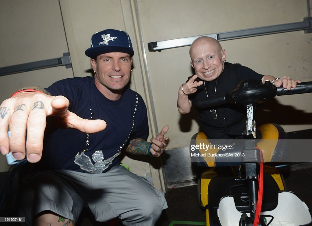 Recording Artist Vanilla Ice and actor Verne Troyer attend the 3rd Annual Streamy Awards at Hollywood Palladium on February 17, 2013 in Hollywood, California.