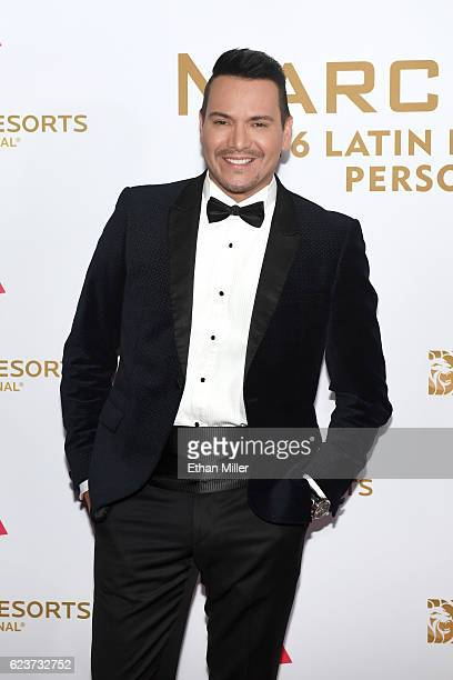Recording artist Victor Manuelle attends the 2016 Person of the Year honoring Marc Anthony at MGM Grand Garden Arena on November 16 2016 in Las Vegas...
