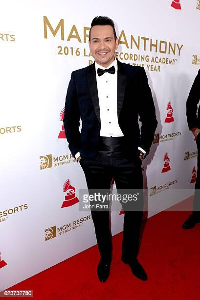 Recording artist Victor Manuelle attends the 2016 Person of the Year honoring Marc Anthony at the MGM Grand Garden Arena on November 16 2016 in Las...