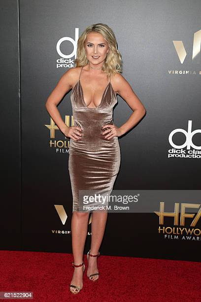 Recording artist Victoriah Bech attends the 20th Annual Hollywood Film Awards on November 6 2016 in Beverly Hills California