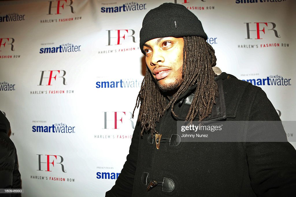 Recording artist <a gi-track='captionPersonalityLinkClicked' href=/galleries/search?phrase=Waka+Flocka+Flame&family=editorial&specificpeople=6915851 ng-click='$event.stopPropagation()'>Waka Flocka Flame</a> attends Harlem's Fashion Row Presentation during Fall 2013 Mercedes-Benz Fashion Week at The Apollo Theater on February 7, 2013 in New York City.