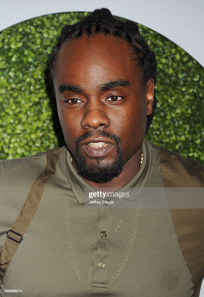 Recording artist Wale arrives at the 2014 GQ Men Of The Year Party at Chateau Marmont on December 4 2014 in Los Angeles California