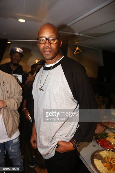 Recording artist Warren G backstage at Highline Ballroom on August 9 in New York City