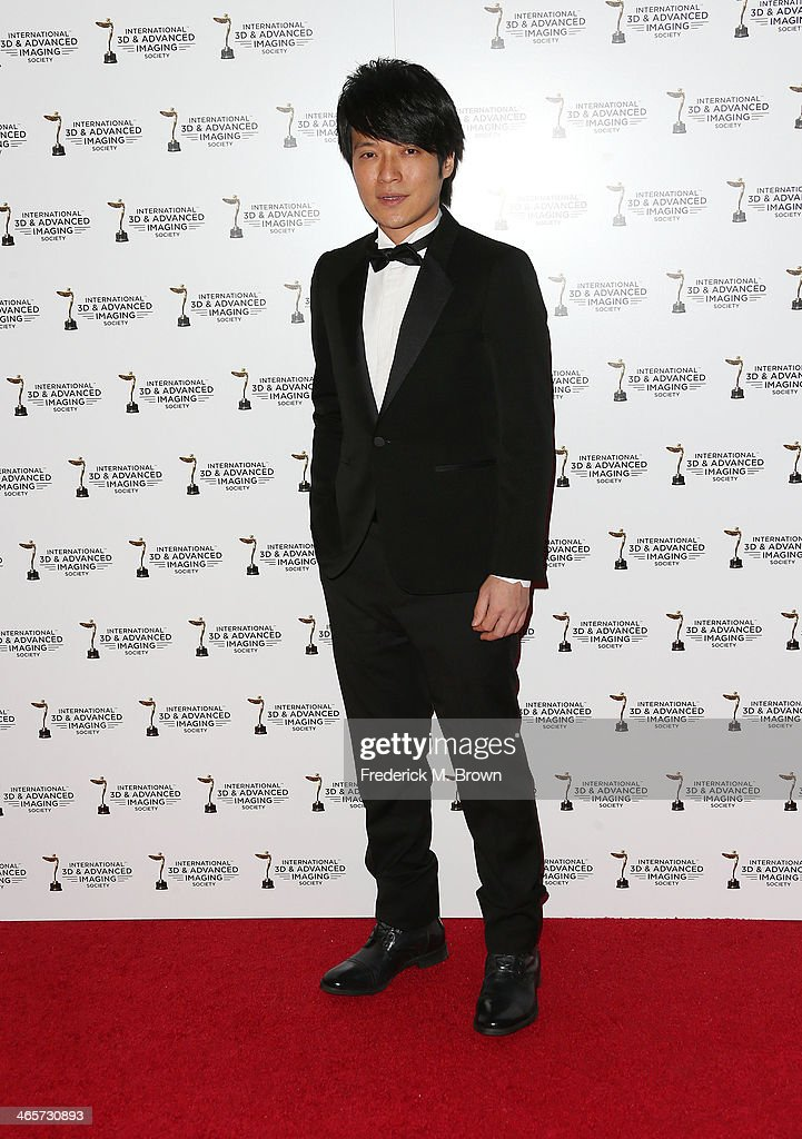 Recording artist Wen Shang Yi of the band May Day Monster, attends the 2014 International 3D and Advanced Imaging Society's Creative Arts Awards at the Steven J. Ross Theatre, Warner Bros. Studios on January 28, 2014 in Burbank, California.