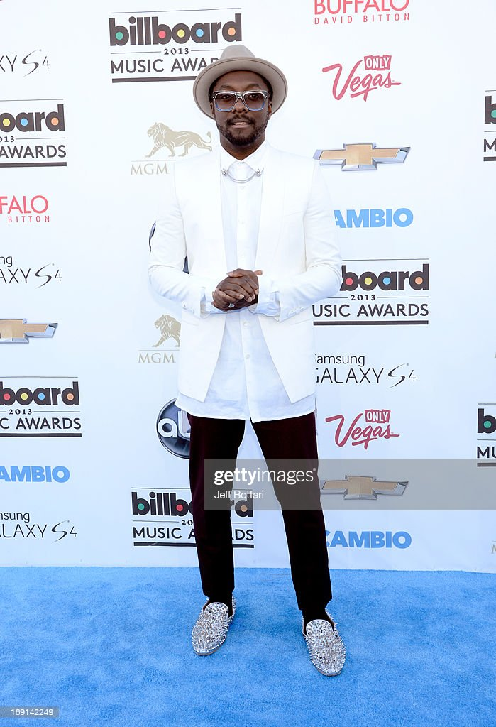 Recording artist Will i Am arrives at the 2013 Billboard Music Awards at the MGM Grand Garden Arena on May 19, 2013 in Las Vegas, Nevada.