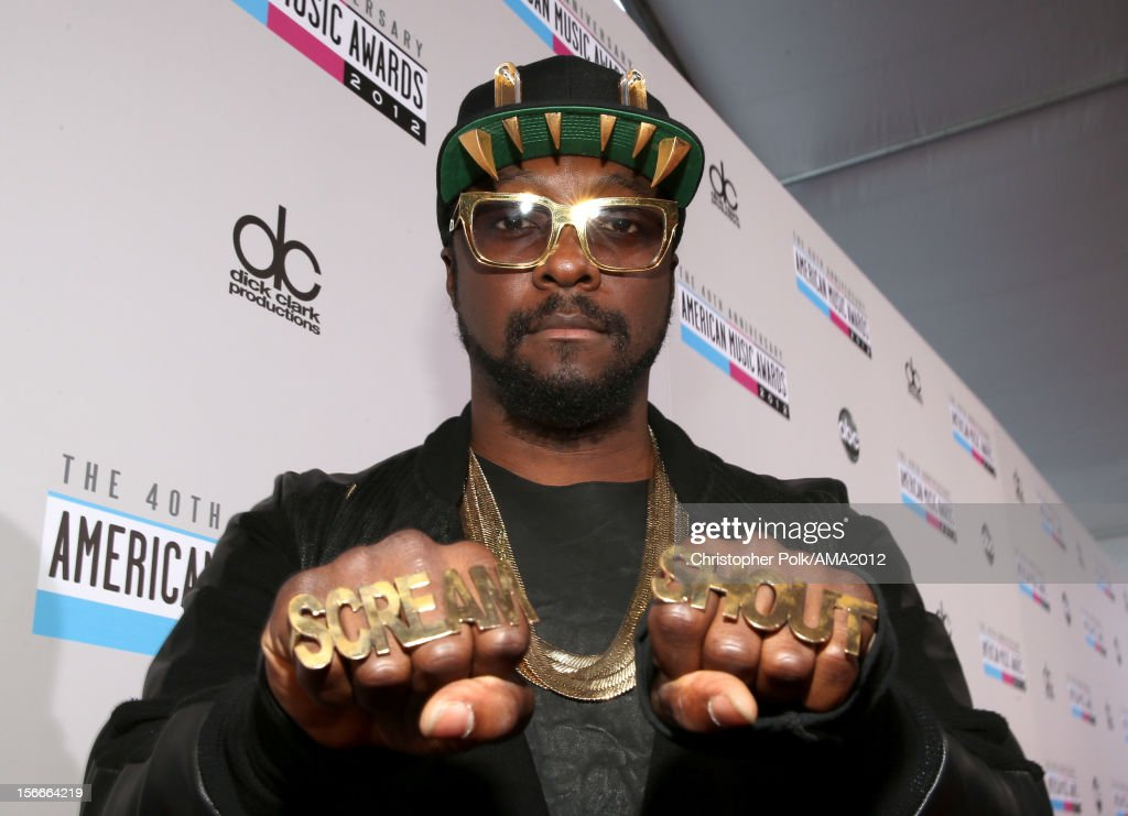 Recording artist will.i.am attends the 40th American Music Awards held at Nokia Theatre L.A. Live on November 18, 2012 in Los Angeles, California.