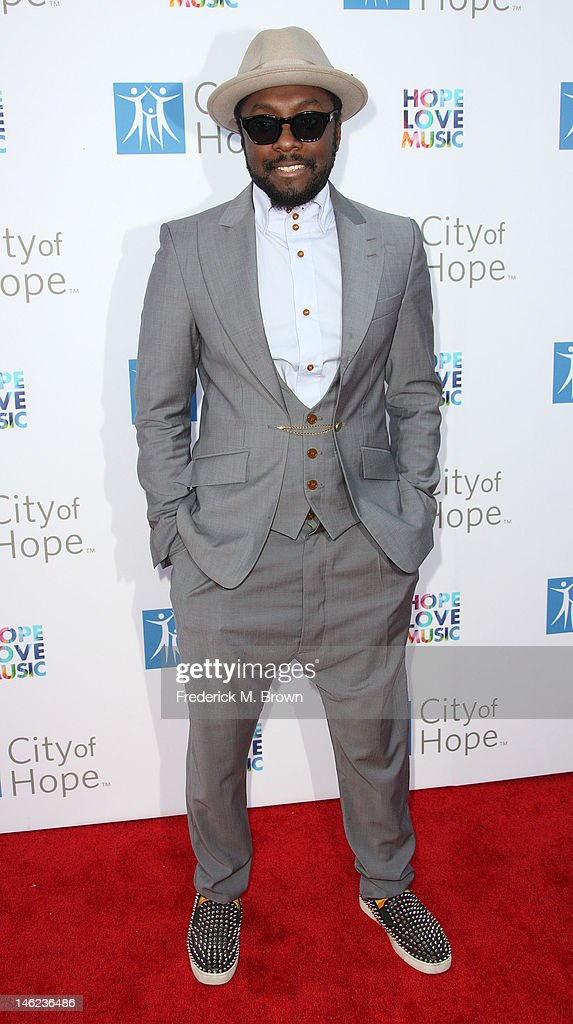 Recording artist will.i.am attends the City of Hope's Music And Entertainment Industry Group Honors Bob Pittman at The Geffen Contemporary at MOCA on June 12, 2012 in Los Angeles, California.