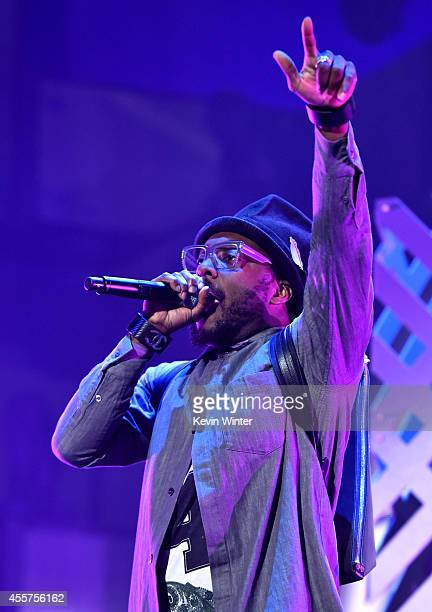 Recording artist william performs onstage during the 2014 iHeartRadio Music Festival at the MGM Grand Garden Arena on September 19 2014 in Las Vegas...