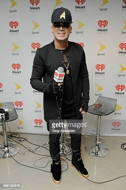 Recording artist Wisin attends iHeartRadio Fiesta Latina presented by Sprint at American Airlines Arena on November 7 2015 in Miami Florida