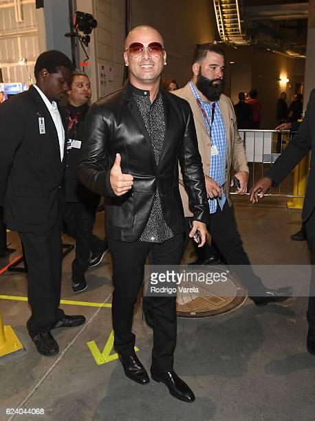Recording artist Wisin attends The 17th Annual Latin Grammy Awards at TMobile Arena on November 17 2016 in Las Vegas Nevada