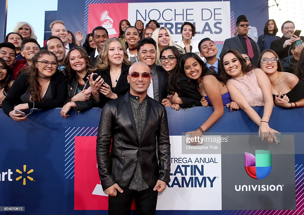 Recording artist Wisin attends The 17th Annual Latin Grammy Awards at T-Mobile Arena on November 17, 2016 in Las Vegas, Nevada.