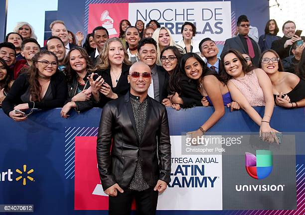 Recording artist Wisin attends The 17th Annual Latin Grammy Awards at TMobile Arena on November 17 2016 in Las Vegas Nevada