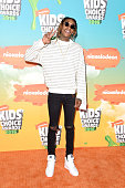 Recording artist Wiz Khalifa attends Nickelodeon's 2016 Kids' Choice Awards at The Forum on March 12 2016 in Inglewood California