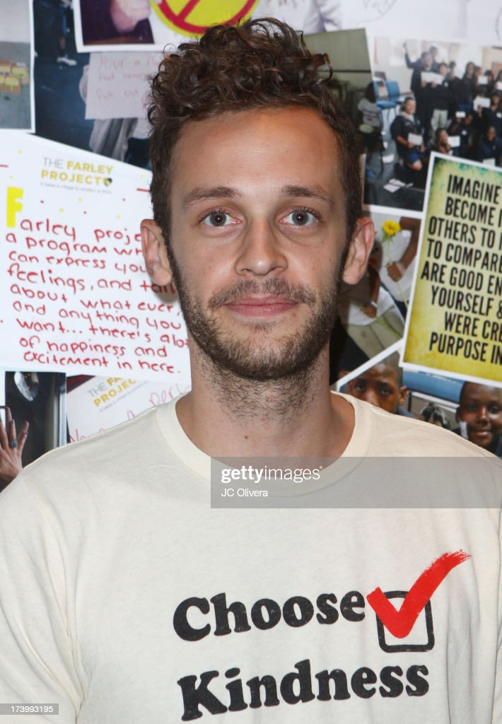 Recording Artist Wrabel attends The Farley Projec's Summer Garden Fundraiser at Kravetz PR Offices & Courtyard on July 18, 2013 in West Hollywood, California.
