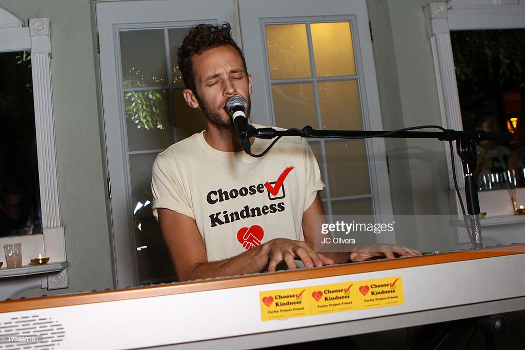 Recording Artist Wrabel performs at The Farley Projec's Summer Garden Fundraiser at Kravetz PR Offices & Courtyard on July 18, 2013 in West Hollywood, California.