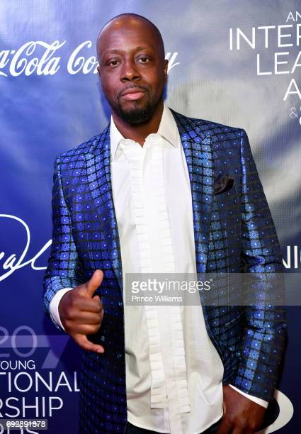 Recording artist Wyclef Jean attends The 2017 Andrew Young International Leadership awards and 85th Birthday tribute at Philips Arena on June 3 2017...