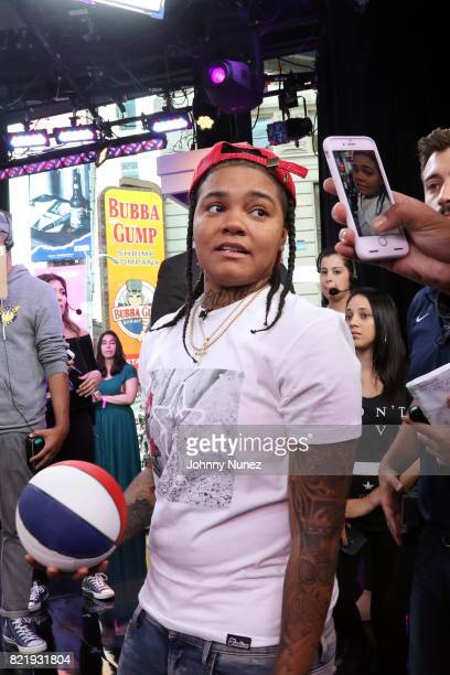 Recording artist Young MA attends MTV Summer In The City at MTV Studios on July 24 2017 in New York City