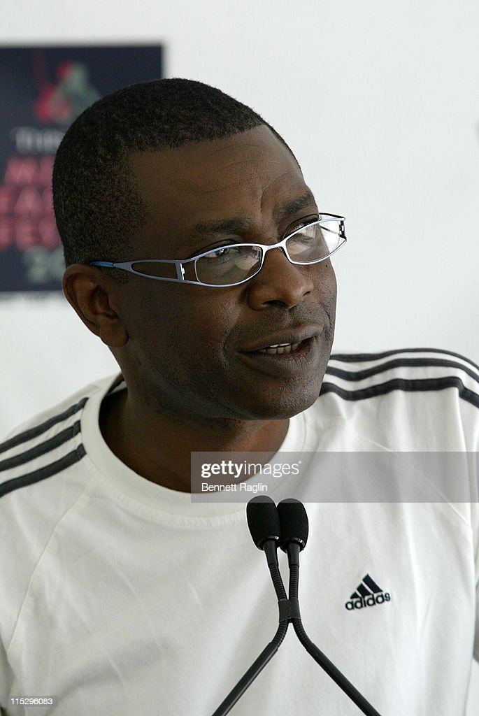 Recording artist <a gi-track='captionPersonalityLinkClicked' href=/galleries/search?phrase=Youssou+N%27Dour&family=editorial&specificpeople=235392 ng-click='$event.stopPropagation()'>Youssou N'Dour</a> Thisday attends presents Africa Rising at the Kennedy Center Concert Hall on August 1, 2008 in Washington, D.C..