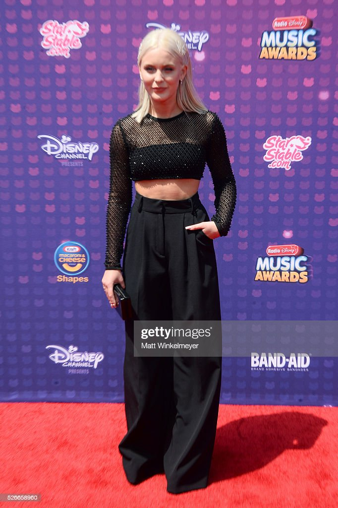 Recording artist Zara Larsson attends the 2016 Radio Disney Music Awards at Microsoft Theater on April 30, 2016 in Los Angeles, California.